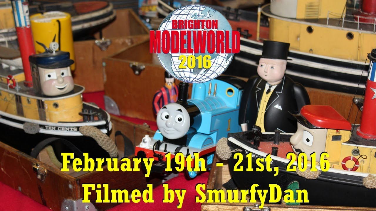 Brighton Modelworld 2016 (featuring Star Tugs and Top Props)