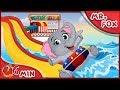 MR Fox | Jumbo Elephant Sniffles Fever | Bedtime Stories | Stories for Kids  Cartoon for kids [4K]