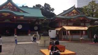 20161029 東京都千代田区‧赤坂にある日枝神社:結婚式