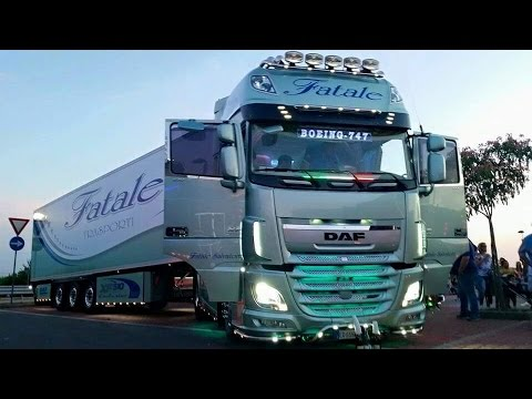daf boieng fatale truck in sud youtube. Black Bedroom Furniture Sets. Home Design Ideas