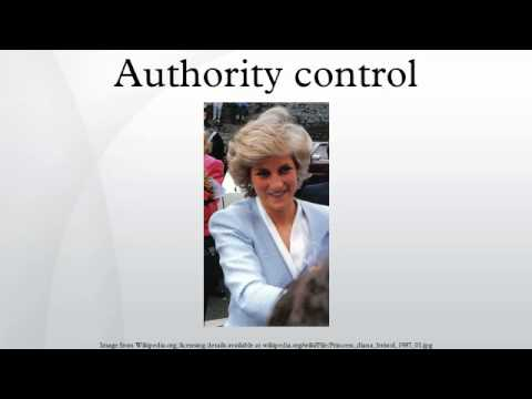 Authority control