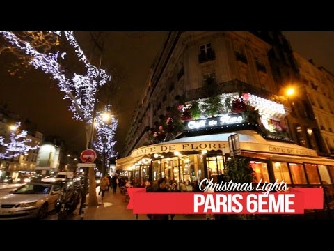 Illuminations de Noël 2016 Paris 6ème-75006