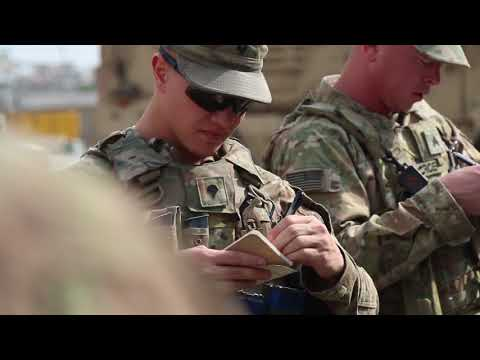 Oklahoma Guardsmen Use Civilian Law Enforcement Experience in Kabul KABUL, AFGHANISTAN 07.22.2018