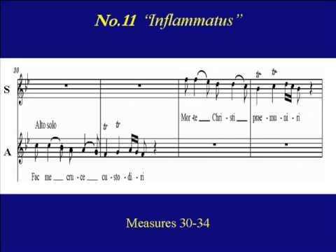 Soprano Pergolesi Stabat Mater 11 Inflammatus