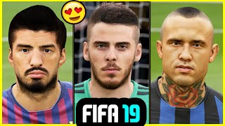 23 NEW FIFA 19 PLAYER FACES ONLY AVAILABLE ON PC