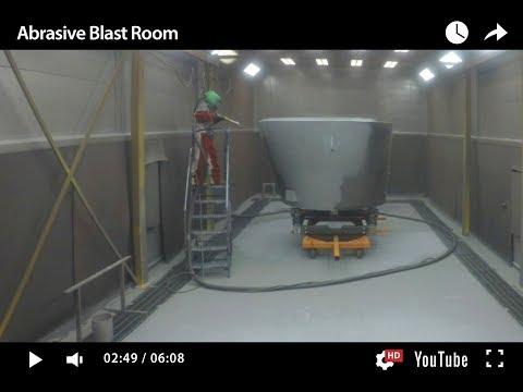 Abrasive Blast Room (ISTblast)