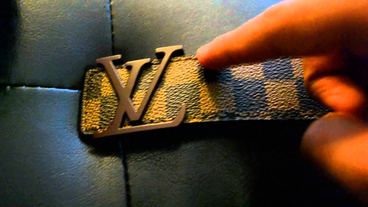 869e08479657 iOffer Review  Replica Louis Vuitton Belt - Brown Damier Graphite 2013!