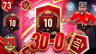 BEST 10TH IN WORLD REWARD EVER! 30-0 TOP 100 - FIFA 19 Ultimate Team RTG #73