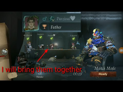 Gardener is looking for her father , Hell Ember before buff   IDENTITY V