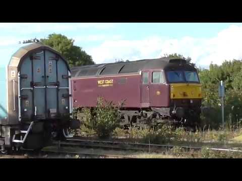freight and steam convoy at heyford, didcot and cholsey 31/08/17