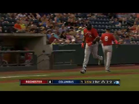 Red Wings' Vargas belts a homer