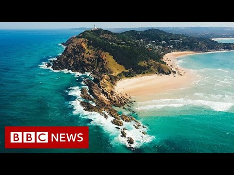 Why Australia's famous Byron Bay beach is disappearing - BBC News