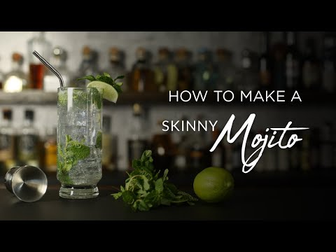 How to Make a Skinny Mojito
