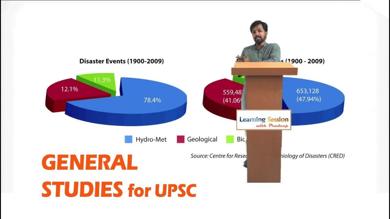 Disaster Management 1 - Civil services exam preparation UPSC online video  lectures, IAS coaching