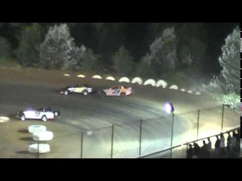 Crowley's Ridge Raceway 9/6/14 #21 Chris Sims Street Stock Feature Race