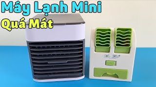 Máy Lạnh Mini, Quạt Điều Hòa Siêu Mát Dùng Trong Mùa Nóng
