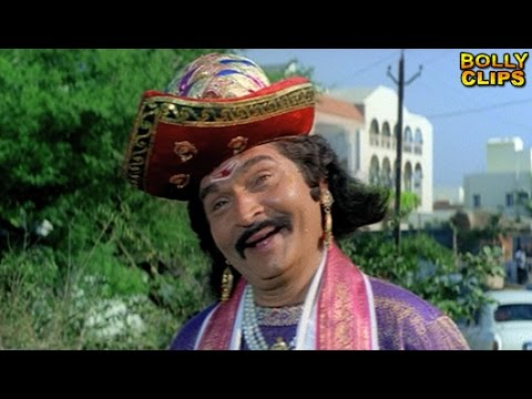 Comedy Scenes | Hindi Comedy Movies | Asrani Look At Dung | Taqdeerwala | Hindi Movies