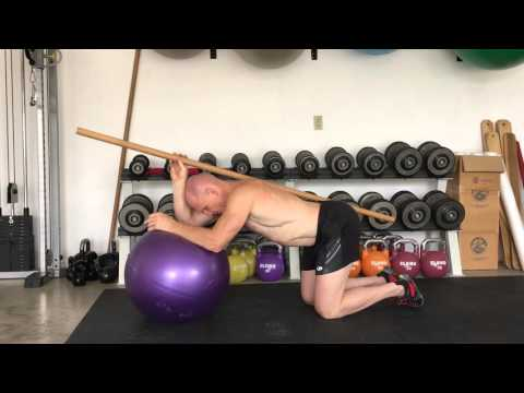 Intelligent Abs: The Forward Ball Roll Exercise