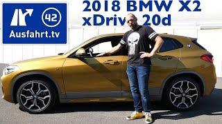 2018 BMW X2 xdrive20d M Sport X (F39) - Kaufberatung, Test, Review