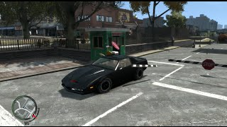 GTA IV Knight Rider Kitt with Police chases