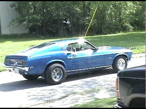 1969 mustang mach 1 acapulco blue drive by - YouTube1969 Mustang Coupe Blue
