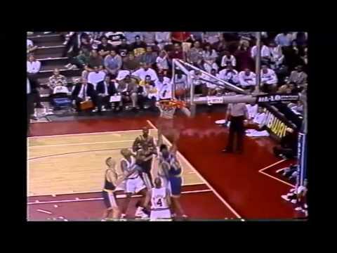 1994 Regular Season Golden State@LA Clippers HIGHLIGHTS