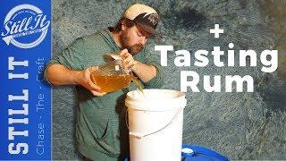 Starting My Live Duฑder Pit & Tasting Home Made Rum