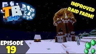Truly Bedrock Episode 19! IMPROVED RAID FARM! Minecraft Bedrock Survival Let's Play!