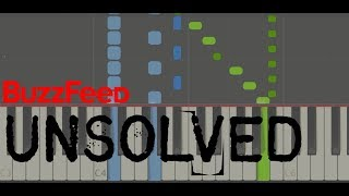 Buzzfeed Unsolved Theme (Easy Piano Tutorial)