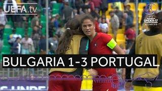 #WU17 Highlights: Bulgaria 1–3 Portugal