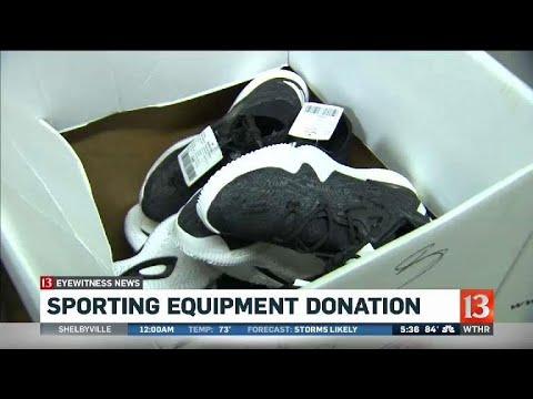 Sporting Equipment Donation