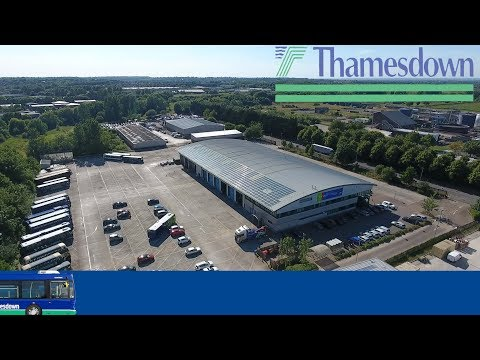 Thamesdown Transport Depot. Swindon, UK - DJI Phantom 4