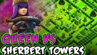 CLASH OF CLANS :: QUEEN SOLO