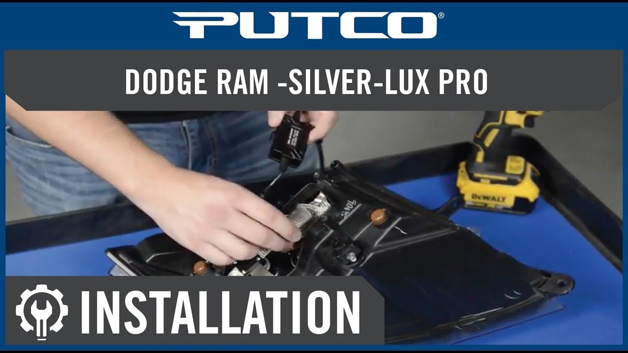 Ram Led Projector Headlight Installation Silver Lux Pro