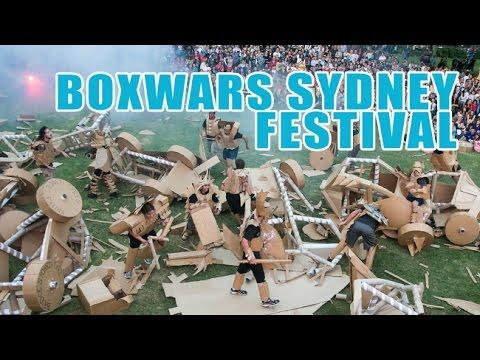 Boxwars at Sydney Festival