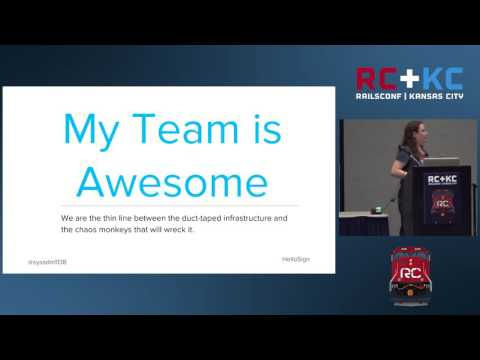 RailsConf 2016 -  Reduce Small-Team Culture Shock with Agile by Jamie Riedesel