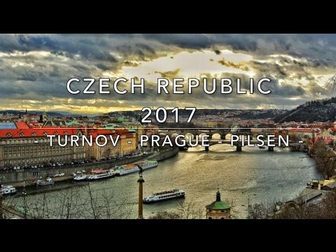 Czech Republic 2017 | Travel Vlog | Turnov - Prague - Pilsen