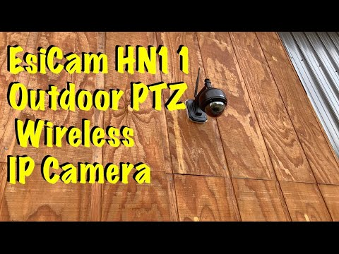 EsiCam HN11 720P Waterproof WiFi Dome Surveillance Outdoor PTZ Wireless IP Camera