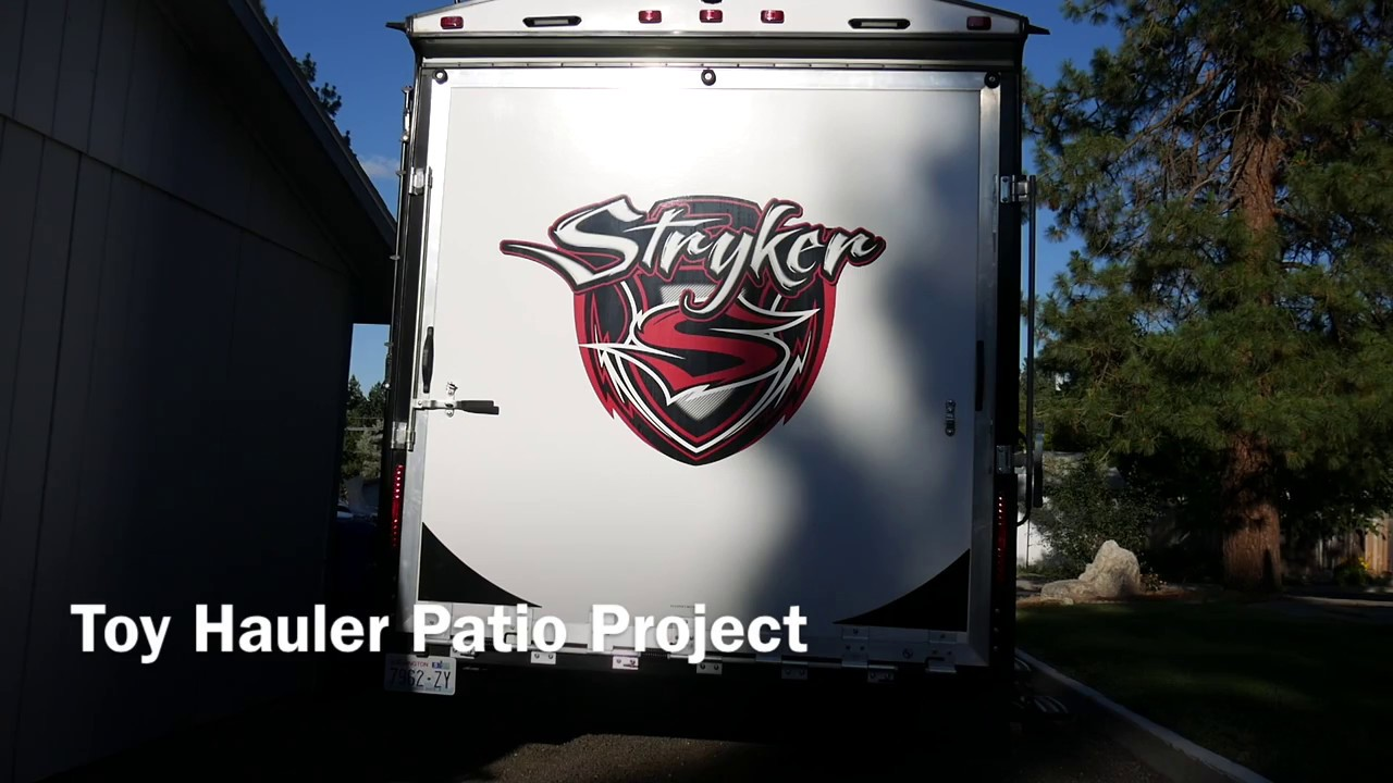How To Turn A Toy Hauler Ramp Into Patio Youtube Dutchman Pop Up 6 Way Wiring Diagram