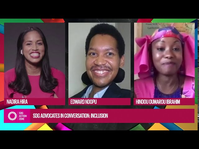 SDG Advocates in Conversation: Inclusion