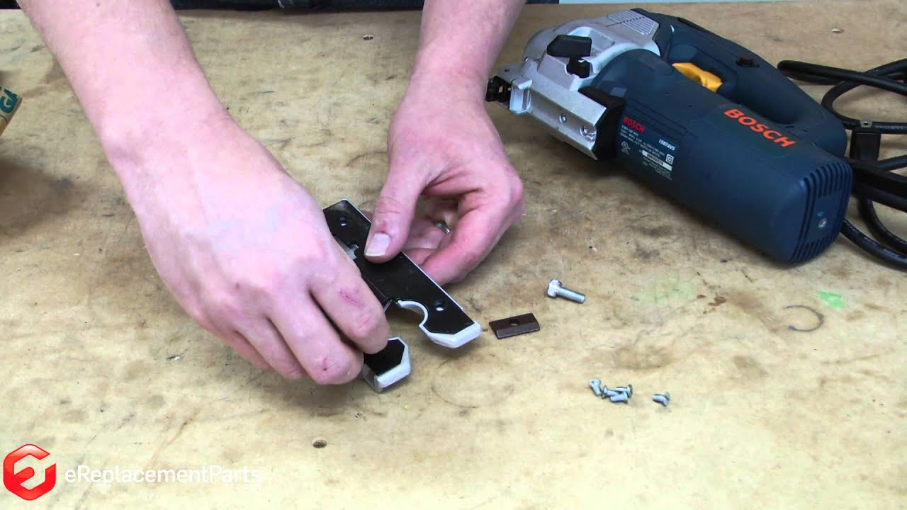 How to replace the base assembly on a bosch 1587avs jigsaw a quick how to replace the base assembly on a bosch 1587avs jigsaw a quick fix youtube greentooth Choice Image