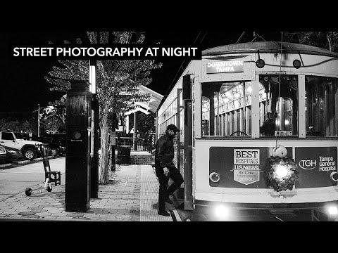 Fujifilm X100F Street Photography At Night - Ybor City, Tampa