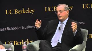 Paul Otellini, CEO of Intel, in conversation with Berkeley-Haas Dean Rich Lyons