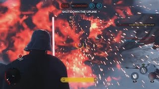 THE POWER OF THE DARK SIDE (Star Wars Battlefront EPIC MOMENT)