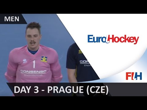 EuroHockey Indoor Championship (Men) - Prague (CZE) - Day 3