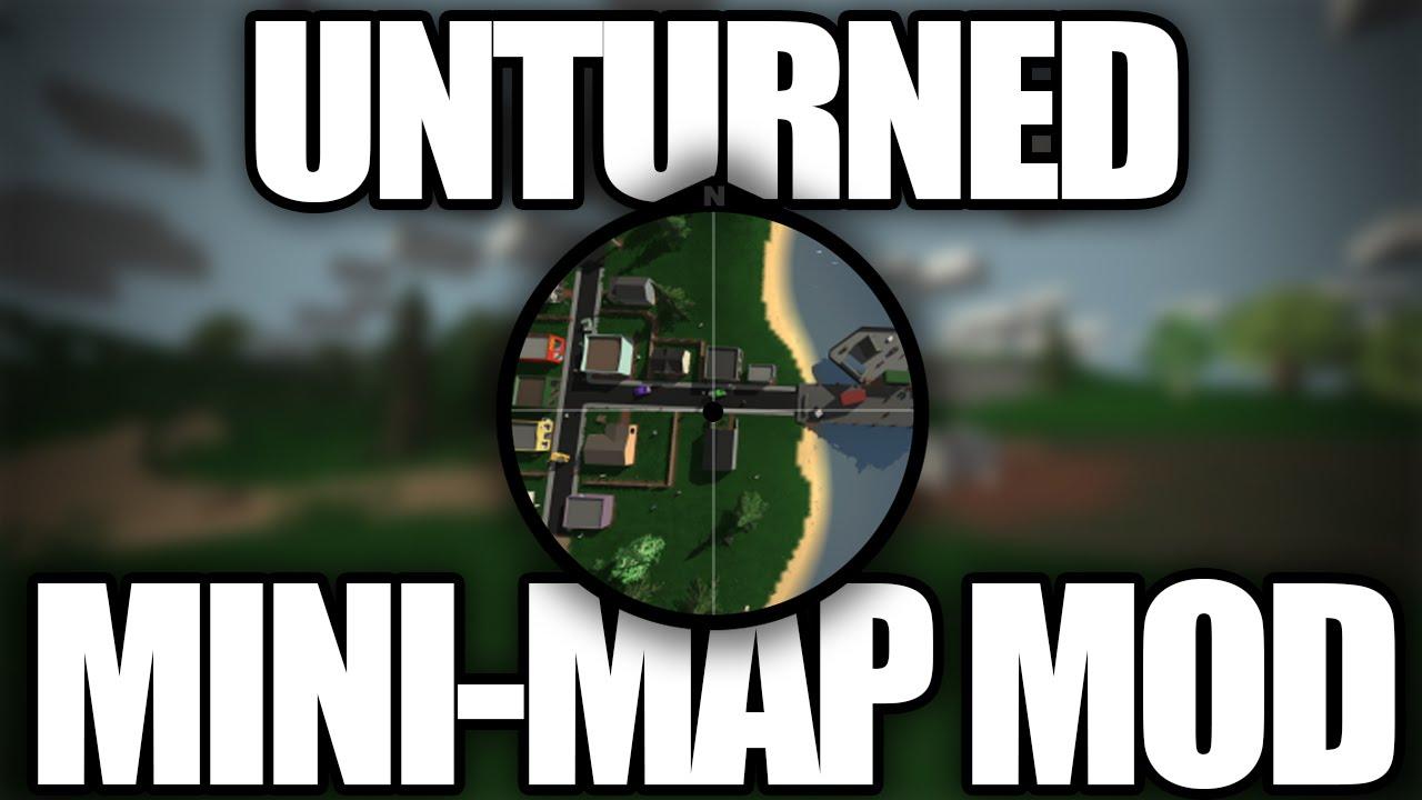 Unturned Modday Minimap Mod YouTube