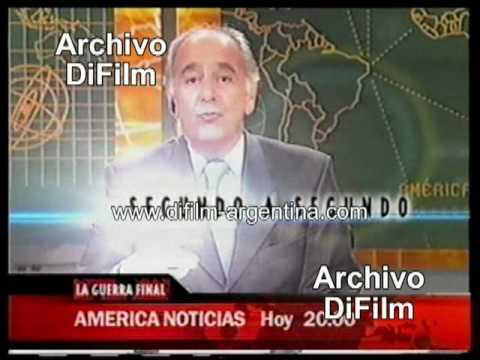 DiFilm - Promo Noticiero América Noticias - La Guerra de Irak (2003)