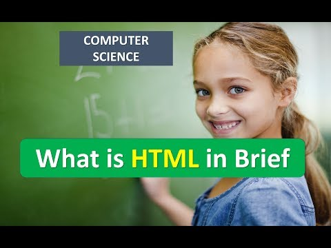 What Is HTML In Brief
