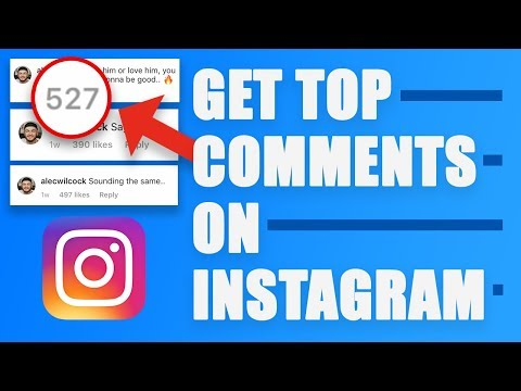 How To Get TOP COMMENT On INSTAGRAM In 2019