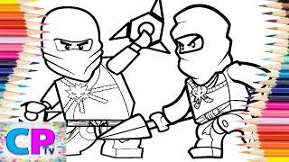 Lego Ninjago Kai/Lego Ninjago Zane Coloring Pages/Jim Yosef - Arrow [NCS Release]No Copyright Sounds